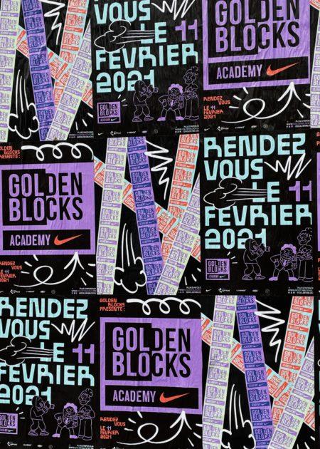 Nike x Golden Blocks par Sauvage111